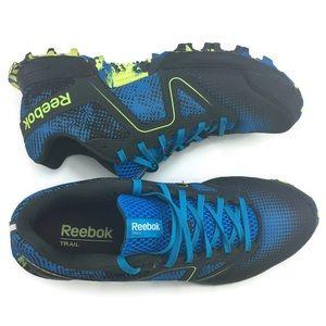 Reebok Dirtkicker Trail II Size 9 Blue, Black